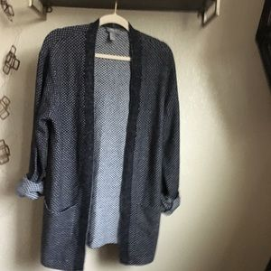 Forever 21 • Gray grampa sweater cardigan